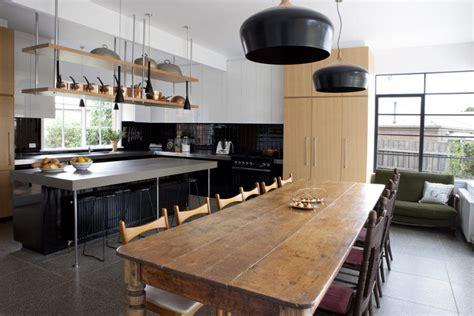 keramik scheune kitchen island cool big kitchen in minimalist and rustic styles digsdigs