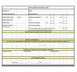 expenditure excel template 9 capital expenditure budget templates free sle