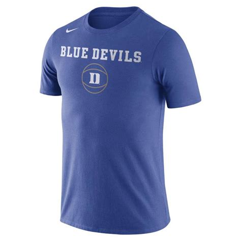 Tshirt Nike Duke nike duke blue devils cotton basketball t shirt