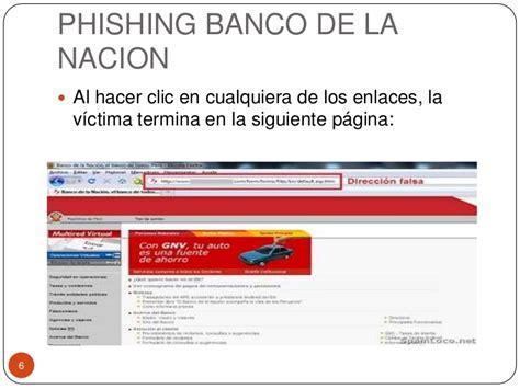 banco de la nacin per banco de la nacin multired virtual phishing