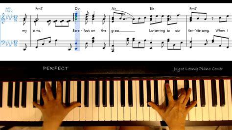 ed sheeran perfect lyrics pdf ed sheeran perfect piano cover sheets lyrics on