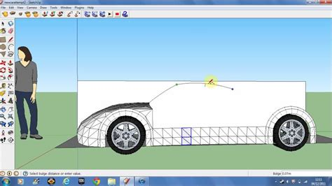 design google car making a car in google sketchup 8 pt1 youtube