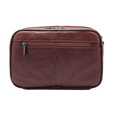 mens leather baby bag handbag for