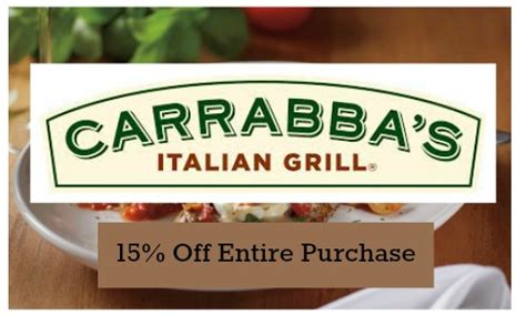 Carrabba S Gift Card Promotion - carrabba s gift card promo code lamoureph blog