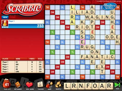 scrabble free play play hasbro classic scrabble board on pc and mac