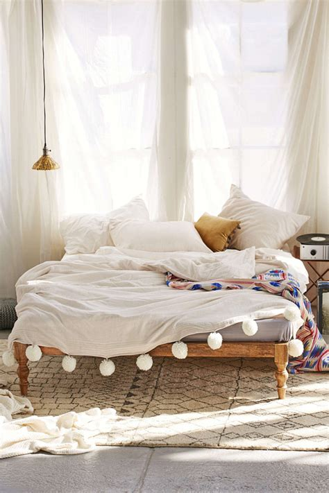 bohemian platform bed the style files