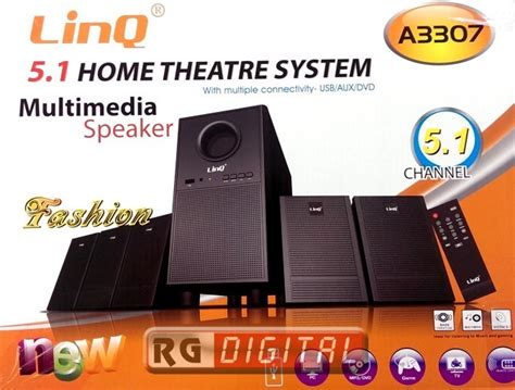 Kit Subwoofer Home Theater Un 021 kit casse dolby surround 5 1 home theatre system sd usb rca a3307