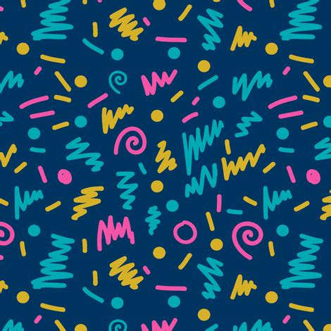 80 s colors 80s shapes rad edgy cool colors 90s fabric