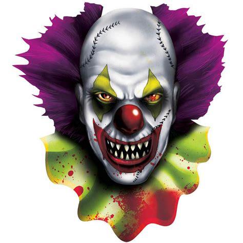 Clown Decorations by 2 Creepy Carnival Circus Evil Clown
