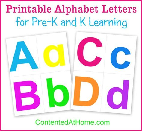 printable alphabet letters pinterest printable alphabet letters contented at home