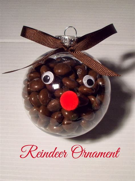 christmas ornament craft with m m s food crafts and family