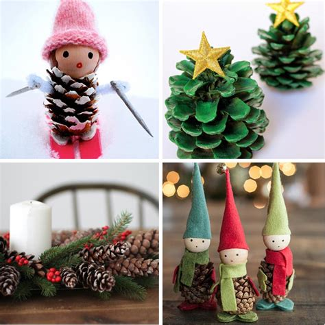 craft decoration 40 creative pinecone crafts for your decorations