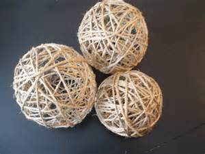 decorative rope balls make your own decorative twine balls for wedding or home