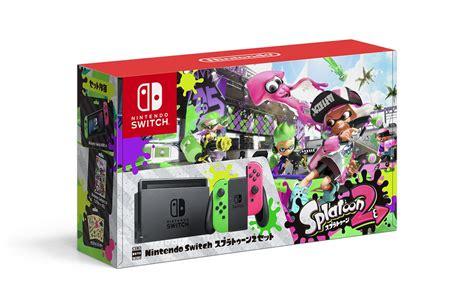 Dijamin Nintendo Switch Accessory Set Splatoon 2 Edition fresh new splatoon 2 accesories and switch bundle announced vooks