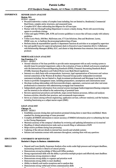 Loan Modification Specialist Sle Resume by Mortgage Administrator Sle Resume Equipment Contract Template