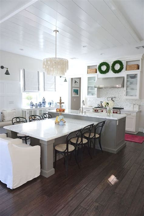 kitchen island with table seating t shaped kitchen island with seating the center island