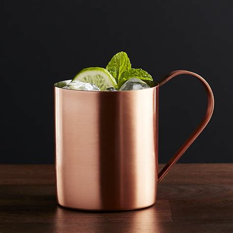 Moscow Mule Copper Mug | Crate and Barrel