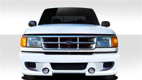 96 ford ranger front bumper 1993 1997 ford ranger duraflex bt 1 front bumper cover 1