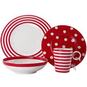 Melamine Bookshelves by Red Dinnerware Decor By Color