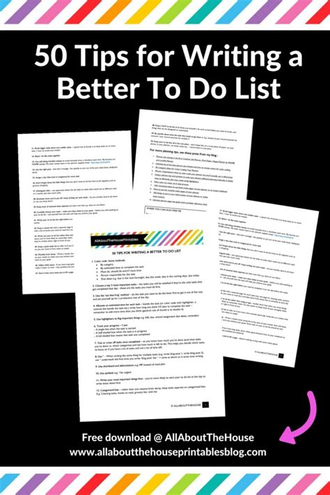 better to do list 60 groups for planner addicts to join