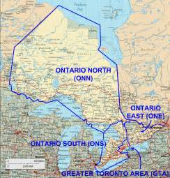 map of northern ontario canada rac announces new ontario section boundaries abbreviations