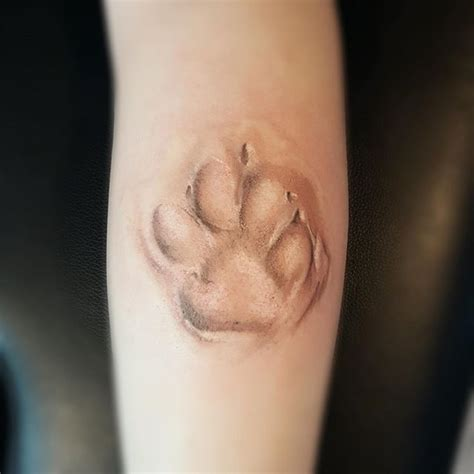 wolf paw print tattoo 250 best images about cat tattoos on