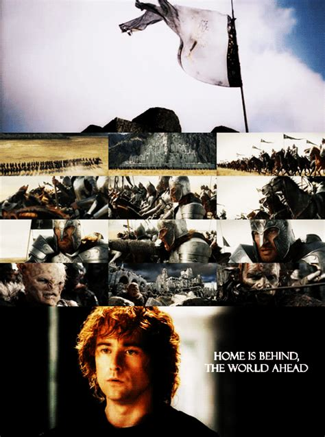 home is the world ahead lord of the rings photo