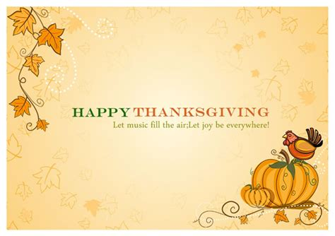 Thanksgiving Card Template For by Thanksgiving Card Templates Greeting Card Builder