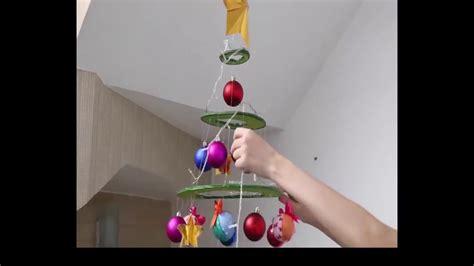 cara membuat pohon natal dari tali pancing membuat pohon natal unik dari kardus bekas selamat natal