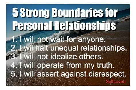 My Take Two self u 5 strong boundaries for personal relationships