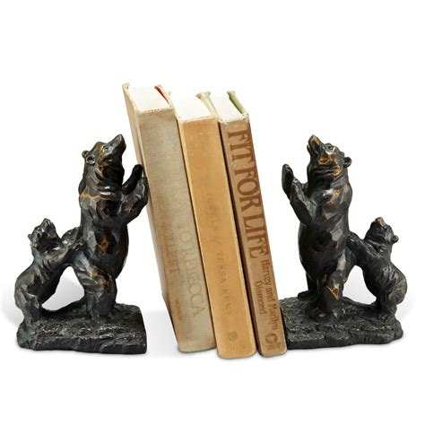 spi home decor standing bear bookends by spi home 47 you save 16 00