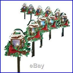 pathway christmas yard candles yard lights gift decorations outdoor 10pcs l posts pathway stakes decor