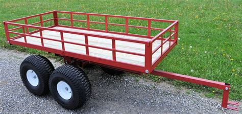 Hay Rack Log Trailer by Model 7550atv Atv Trailer With Our New Brush And Firewood