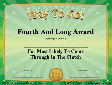 silly certificates awards templates 125 best images about different award certificates on