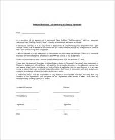Employee Confidentiality Agreement Template Free doc 460595 employment confidentiality agreement