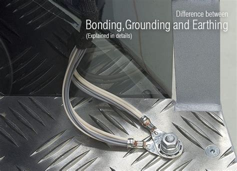 what is the difference between bonding grounding and