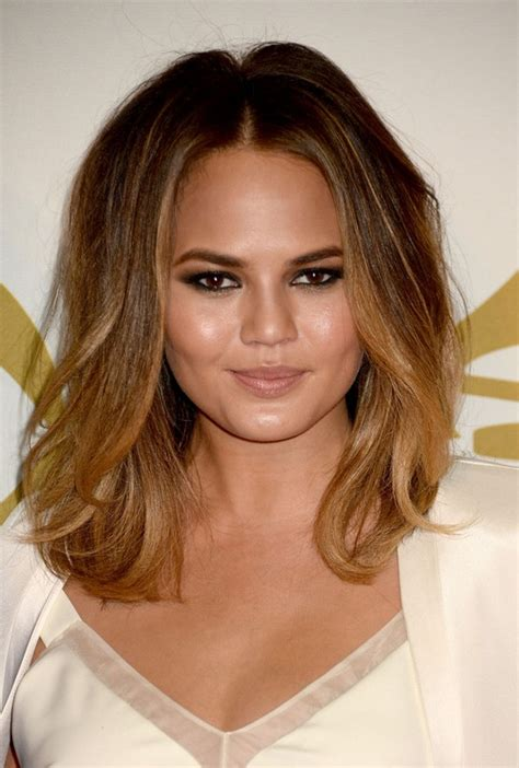 chrissy teigen hair color ombre hair colors for 2016 2019 haircuts