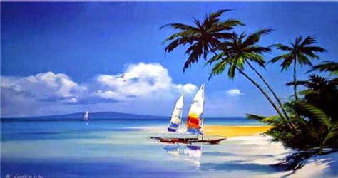 Lukisan Pemandangan Pantai image gallery lukisan pantai