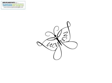 simple name tattoo ideas 30 simple butterfly tattoos