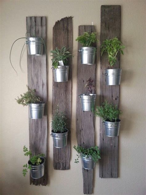 indoor herb garden wall creative indoor vertical wall gardens small tins tin