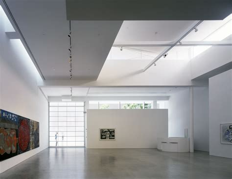 beleuchtung galerie gagosian gallery richard meier partners architects
