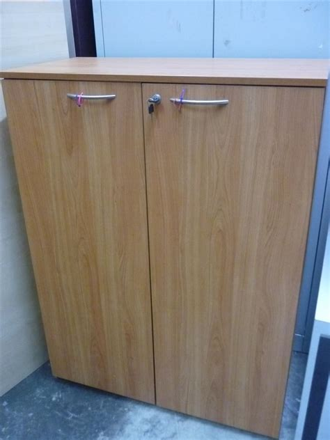 Wood Office Cabinets With Doors Used Office Furniture Used 2 Door 4ft Solid Wood Office Filing Cabinet Images Frompo