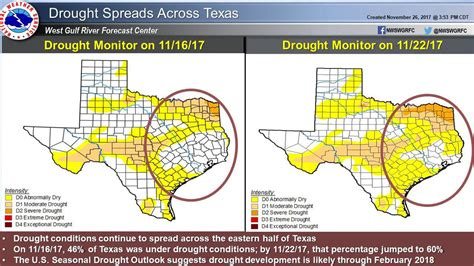 houston drought map drought conditions continue in eastern after