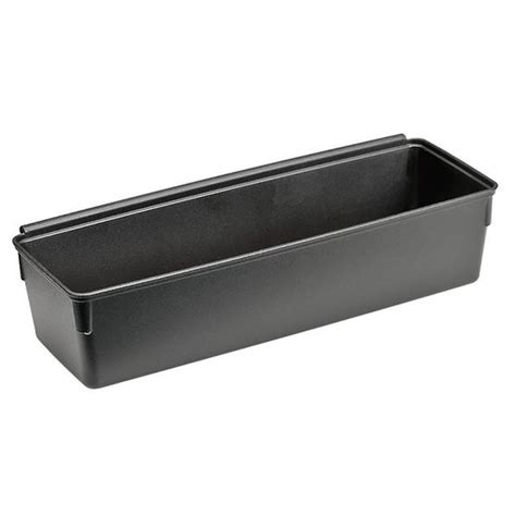 Rubbermaid Storage With Drawers by Rubbermaid No Slip Drawer Organizer Black 3 X 9inch