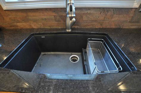 Black Granite Kitchen Sink by Black Granite Composite Sink Reviews Interior Exterior