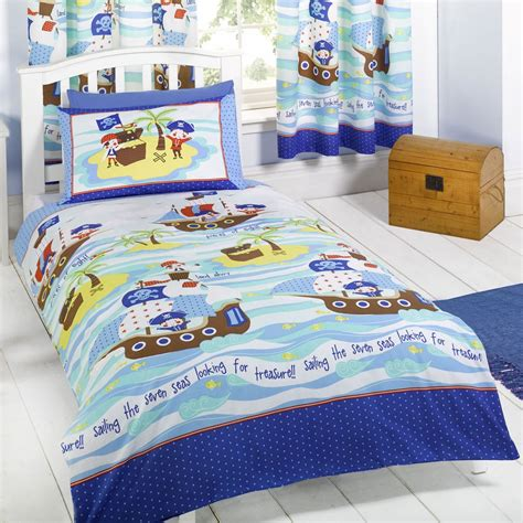 kids bedroom curtains and bedding seven seas pirates bedding bedroom accessories duvet