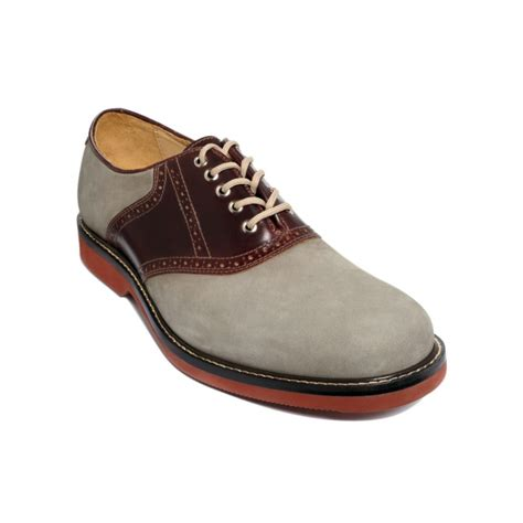 saddle oxford shoes johnston murphy brennan oxford saddle shoes in brown for