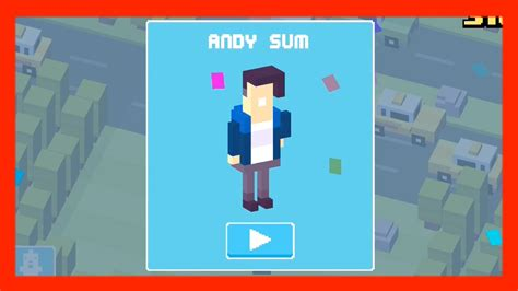 How To Get A Mystery Characters | unlock andy sum crossy road new mystery character