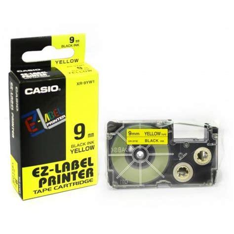 Label Printer Casio 9mm casio 9mm genuine label printer cartridge 11 colour choice ebay