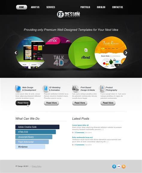 design web template web design website template 36376